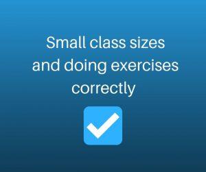 small pilates classes