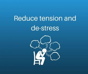 reduce tension and stress